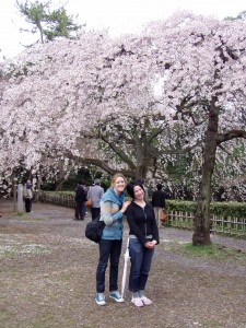 And look! It's me and my friend Andrea in Kyoto, 2007.