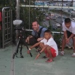 Cameraman Joe on location in Thailand. Any time we post a photo that is crappy you know I took it. If it is well-lit and compellingly composed, you know it was his work. :-)
